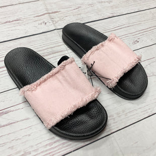 Primary Photo - BRAND:    CLOTHES MENTOR STYLE: SANDALS FLAT COLOR: PINKBLACK SIZE: 8 OTHER INFO: CHATTIES - SKU: 116-116140-7135