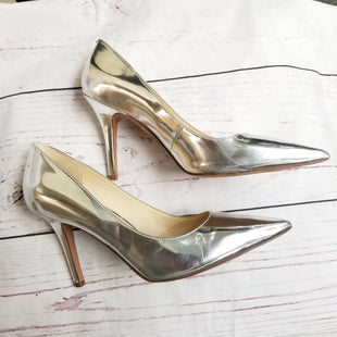 Primary Photo - BRAND: NINE WEST SHOES STYLE: SHOES HIGH HEEL COLOR: PLATINUM SIZE: 8.5 SKU: 116-116141-65