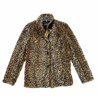 Primary Photo - BRAND: SAM EDELMAN STYLE: COAT SHORT COLOR: ANIMAL PRINT SIZE: M SKU: 116-116126-36003