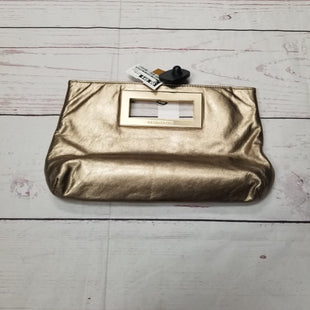Primary Photo - BRAND: MICHAEL BY MICHAEL KORS STYLE: CLUTCH COLOR: GOLD SIZE: MEDIUM OTHER INFO: LEATHER BERKLEY MSRP $250 SKU: 116-116134-6884
