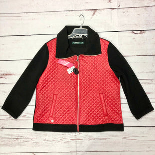 Primary Photo - BRAND: LAUREN BY RALPH LAUREN STYLE: JACKET OUTDOOR COLOR: RED BLACK SIZE: XL SKU: 116-116126-32322