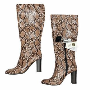 Primary Photo - BRAND: A NEW DAY STYLE: BOOTS KNEE COLOR: ANIMAL PRINT SIZE: 8.5 OTHER INFO: NWT-MSRP $39.99 SKU: 116-116147-2285