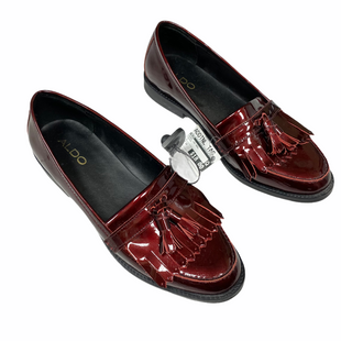Primary Photo - BRAND: ALDO STYLE: SHOES LOW HEEL COLOR: MAROON SIZE: 10 SKU: 116-116147-2226