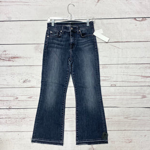 Primary Photo - BRAND: 7 FOR ALL MANKIND STYLE: JEANS DESIGNER COLOR: GREY SIZE: 4 SKU: 116-116134-7460