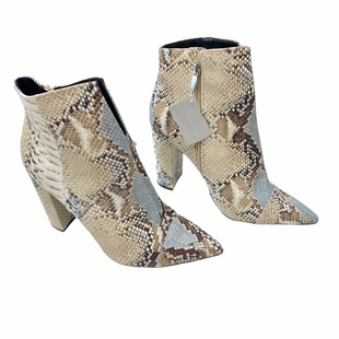 Primary Photo - BRAND: QUPID STYLE: BOOTS ANKLE COLOR: SNAKESKIN PRINT SIZE: 10 SKU: 116-116134-9883