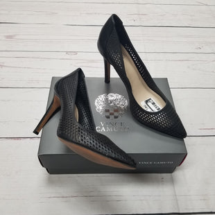 Primary Photo - BRAND: VINCE CAMUTO STYLE: SHOES HIGH HEEL COLOR: BLACK SIZE: 8 SKU: 116-116126-30621