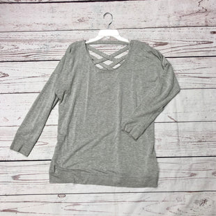 Primary Photo - BRAND: ATHLETA STYLE: ATHLETIC TOP COLOR: GREY SIZE: L SKU: 116-116134-7606