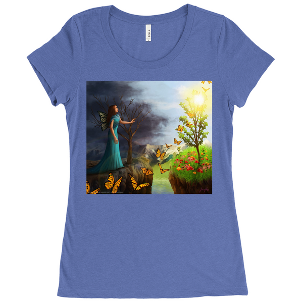 Courage Womens T-Shirts