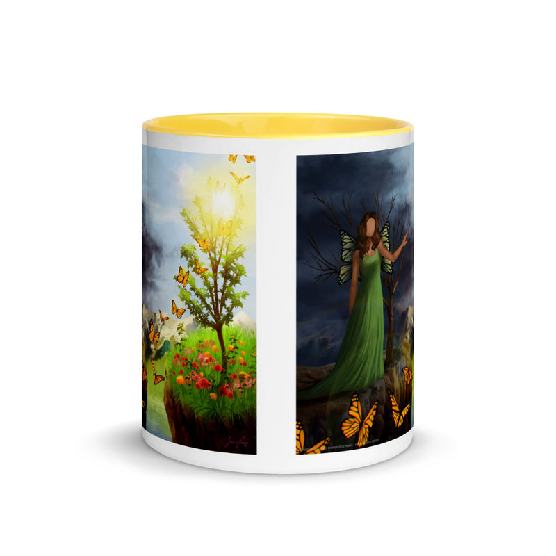 Courage 4 Mug with Color Inside