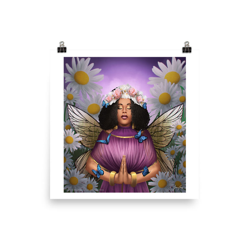 Peace in Photo Paper Poster