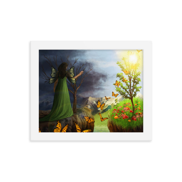 Courage 2 in Framed Photo Paper Poster