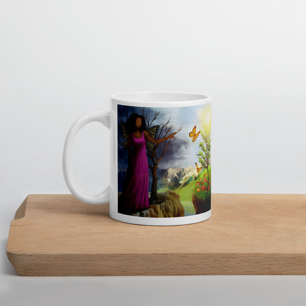 Courage 3 on Coffee Mug