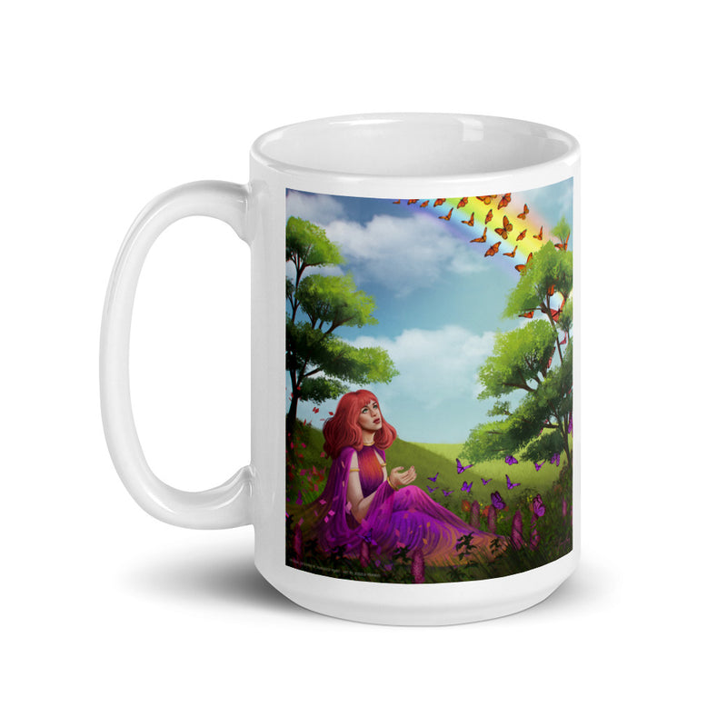 Metamorphosis on Coffee Mug