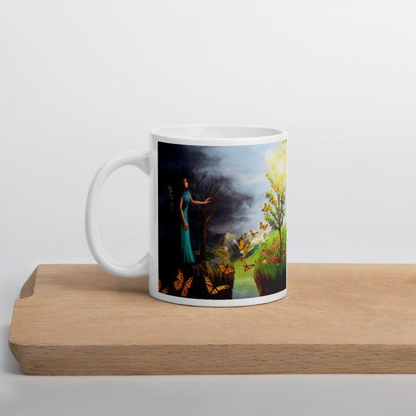Courage 1 on Coffee Mug