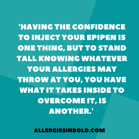Allergy statement