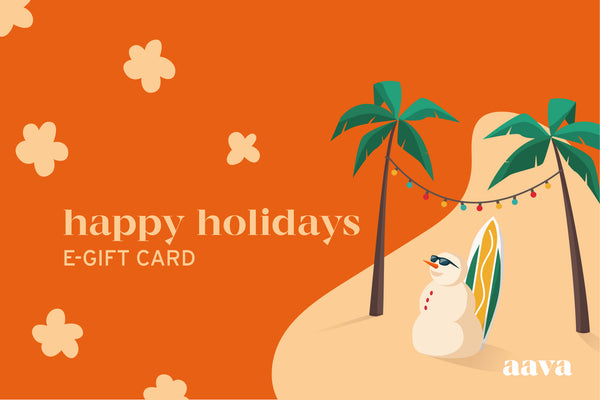 HAPPY HOLIDAYS - E-GIFT CARD!