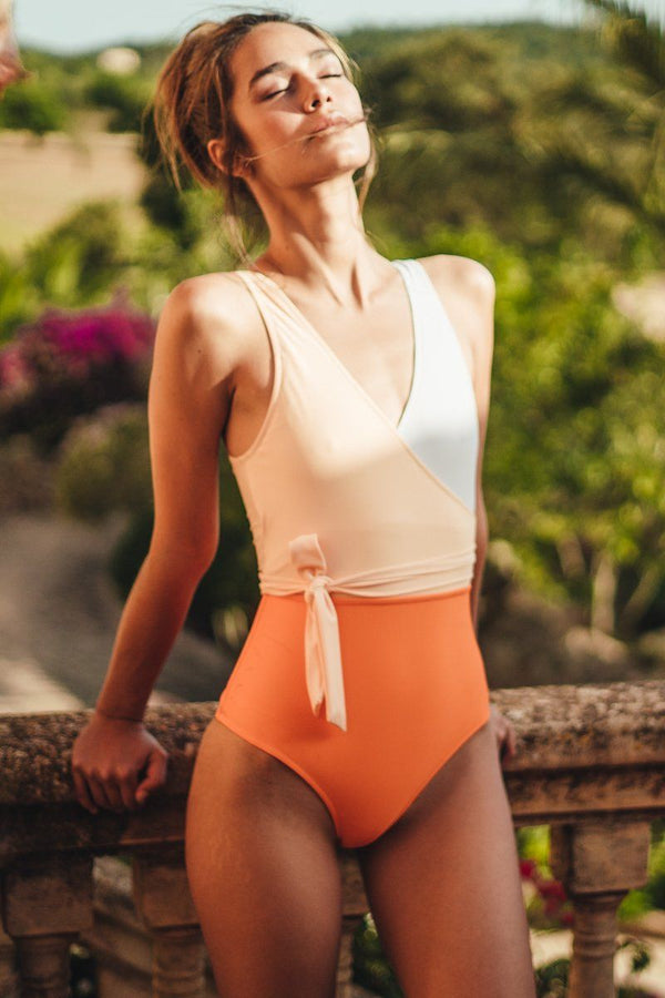 BOWKNOT ONE-PIECE