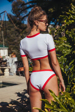 Lade das Bild in den Galerie-Viewer, CROP TOP BIKINI