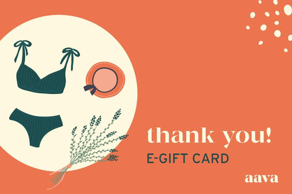 WARM THANKS - E-GIFT CARD!