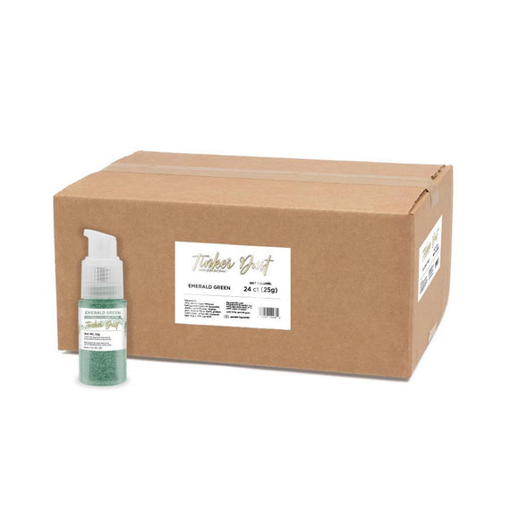 Emerald Green Tinker Dust Spray Pump by the Case-Wholesale_Case_Tinker Pump-Bakell
