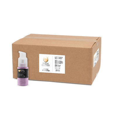 Light Purple Brew Glitter Spray Pump by the Case-Wholesale_Case_Brew Glitter Pump-Bakell