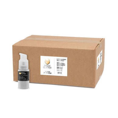 Clear Shimmer Brew Glitter Spray Pump by the Case-Wholesale_Case_Brew Glitter Pump-Bakell