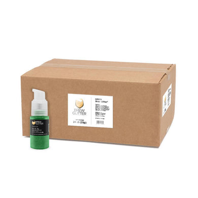 Green Brew Glitter Spray Pump by the Case-Wholesale_Case_Brew Glitter Pump-Bakell