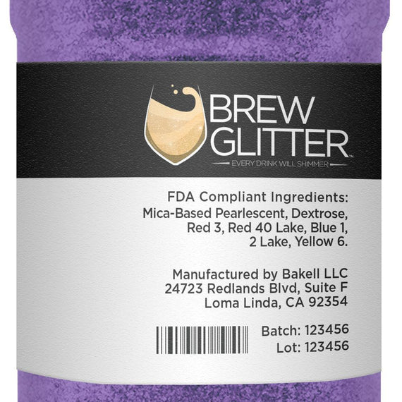 Purple Brew Glitter by the Case-Wholesale_Case_Brew Glitter-Bakell