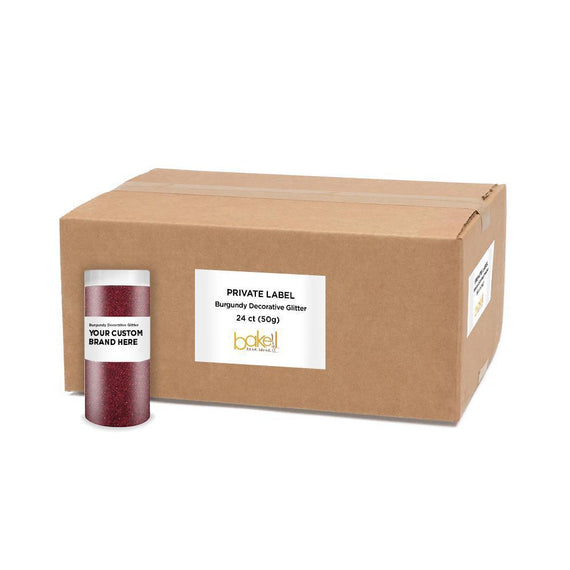 Burgundy Red Decorating Dazzler Dust | Private Label-Private Label_Dazzler Dust-Bakell
