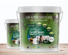 Load image into Gallery viewer, GrafClean is a paint for perfectly suited to applications in construction and repainting. This paint is perfect for decorating facades and interiors. It is Free from VOC (Volatile Organic Compounds) emissions, and certified for moisture control in concrete surface protection systems (EN 1504-2).