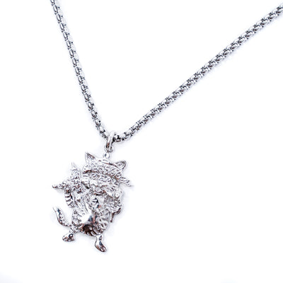 white gold signature tee luxury pendants for men