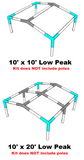 "All Sizes Low Peak Roof Canopy Parts Kit 1-1/2"" Diameter"
