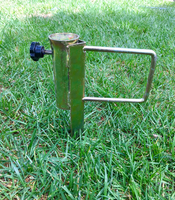 "18"" Canopy Foot Stake Holder"