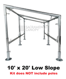 "3/4"" Diameter Low Slope Roof Canopy Parts Kit - All Sizes"