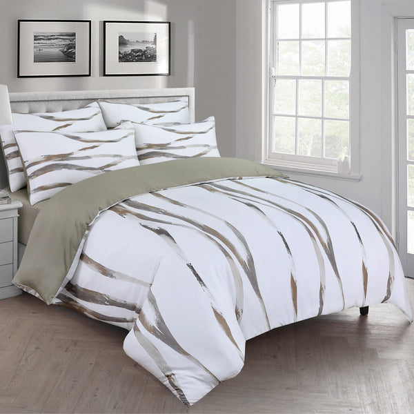 Lalique 4 Piece Bedding Set - Elegant Linen