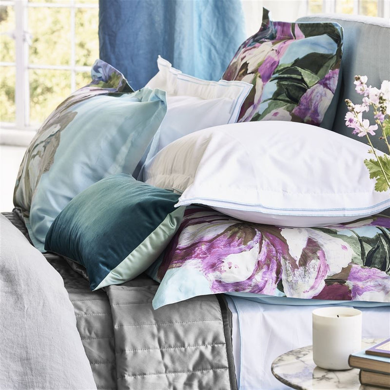 Designers Guild Delft Flower Sky 4 Piece Bedding Set