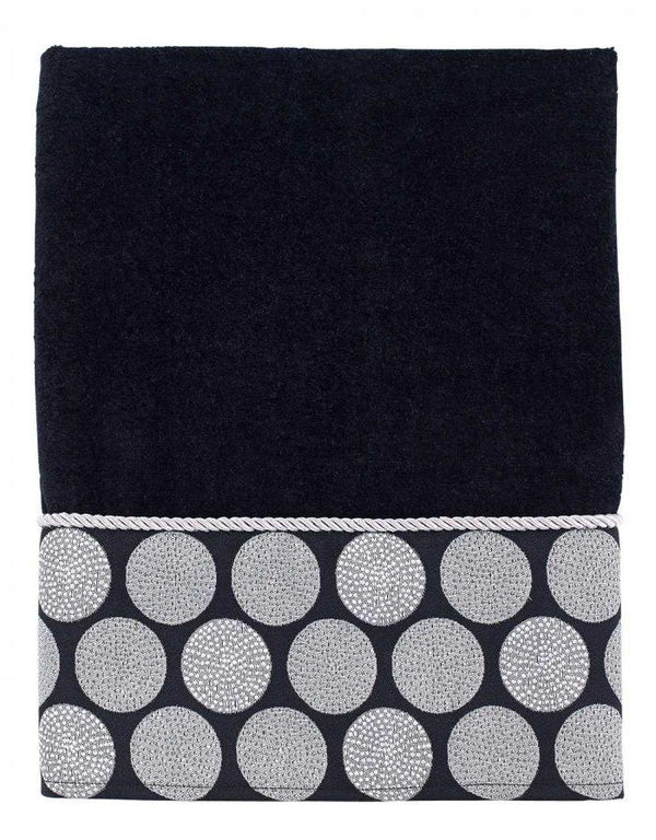 Avanti Dotted Circles Collection Towels