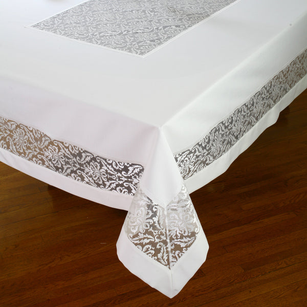 Swiss Collection Chenille Tablecloth
