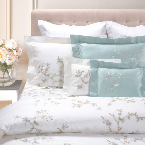 Erika Embroidery 4 Piece Bedding Set (available in 2 colors)
