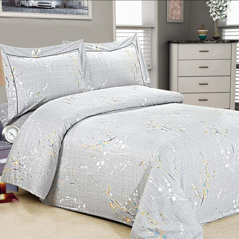 French Roses 6 Piece Bedding Set
