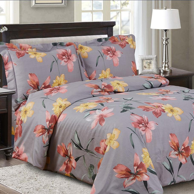 French Garden 8 Piece Bedding Set