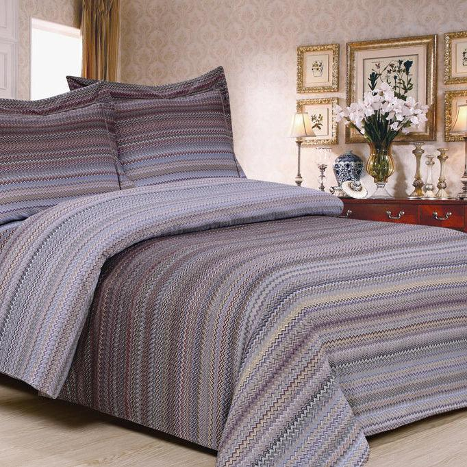 French Mini Waves 6 Piece Bedding Set