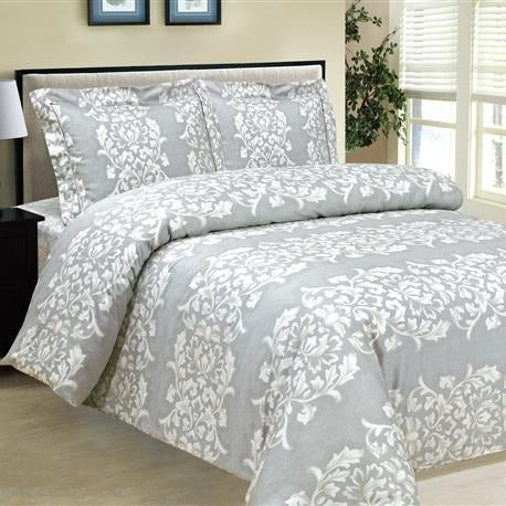 French Emblem 8 Piece Bedding Set - Elegant Linen