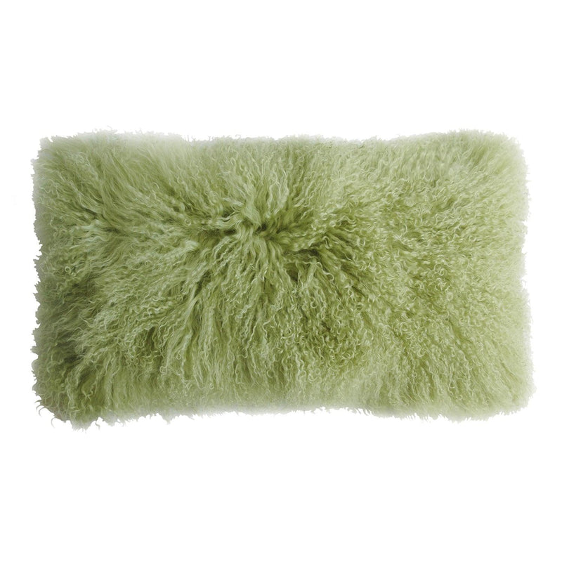 Curly Longwool Decorative Pillow