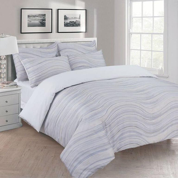 Elegant Linen La Onda 4 Piece Bedding set