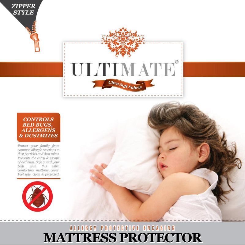 Elegant Linen Ultimate Bed Bug and Allergy Mattress Protector