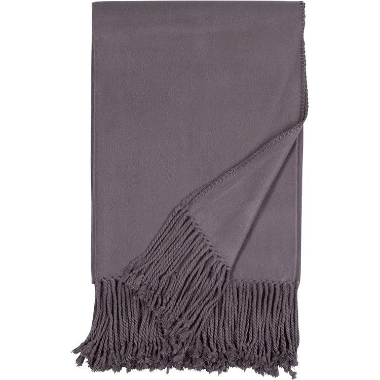Luxxe Fringe Throws