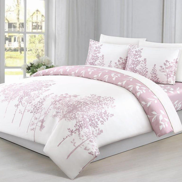 Elegant Linen Willow 4 Piece Bedding set