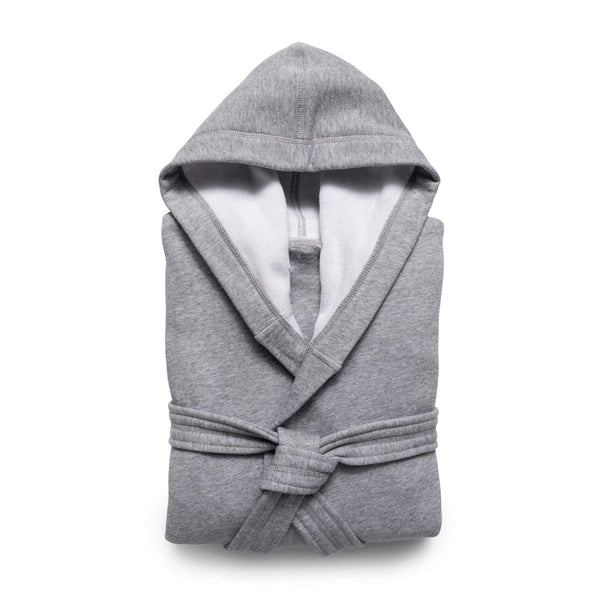 Jersey Knit Hooded Robe