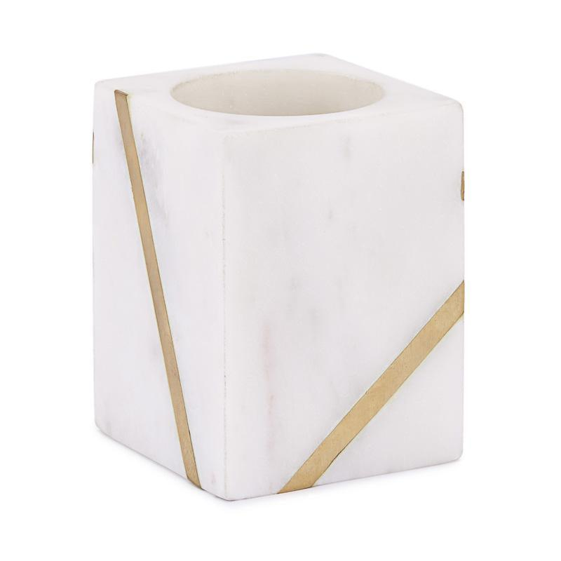Marble Brass Accessories - Elegant Linen